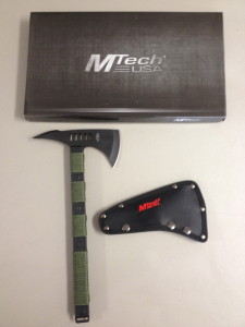 Mtech Heavy Duty Zombie Killer Tomahawk Tactical Hatchet